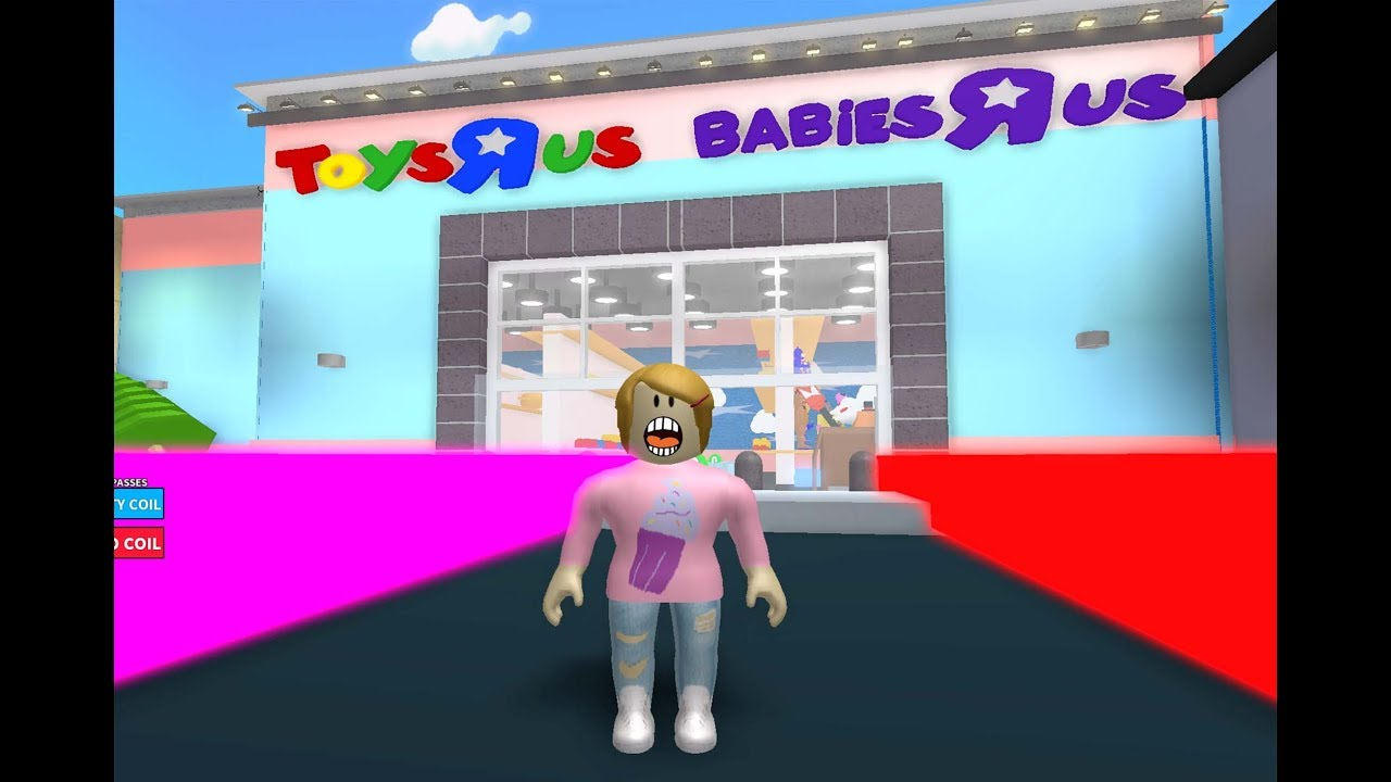 Roblox Escape Toys R Us With Molly Youtube
