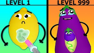 Fruit Clinic - Funny Doodles  Pro Gameplay Walkthrough Lion Studios - Android.iOS