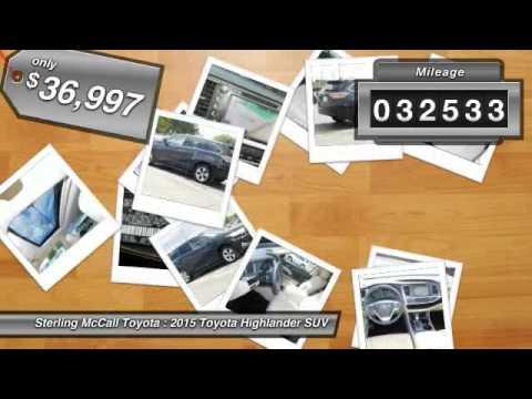2015 Toyota Highlander Houston TX FS061093. Sterling McCall ...