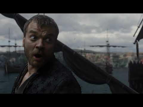Дейенерис сжигает флот Эурона Игра Престолов 8 сезон 5 серия