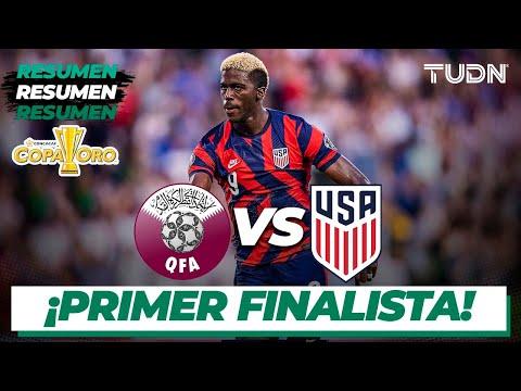 Download Resumen y goles | Qatar vs Estados Unidos | Copa Oro 2021 - Semifinal | TUDN