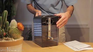 Homemade Hand Crank Paper Shredder
