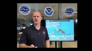 NWS Miami Web Report for Hurricane Irma: 5pm Thursday Sept. 7th