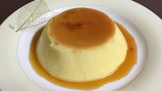 #717-1 custard pudding - 커스터드푸딩