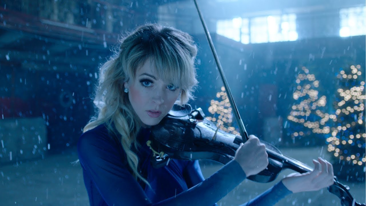 A picture of the musician Lindsey Stirling, whose work will inspire your creative writing.