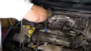 How to replace Ford Escort Zetec engine spark plugs