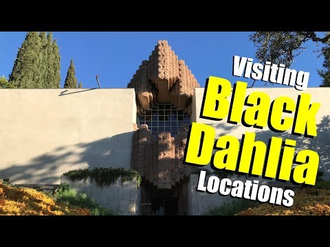 Visiting BLACK DAHLIA Locations - From I Am The Night TNT TV Series