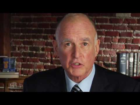 Jerry Brown Announcement Video