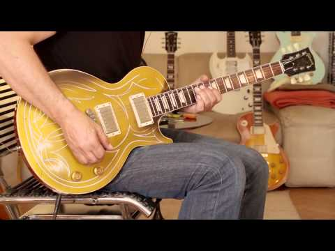 2014 Gibson Billy F. Gibbons Goldtop