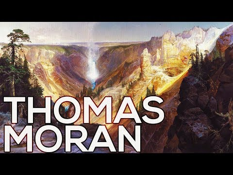 Thomas Moran: A collection of 342 paintings (HD)
