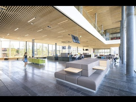 Holz100 project - New city hall of Venlo in Holland