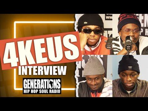 Youtube: Interview 4Keus: »C'est beau la vie d'artiste mais c'est dur…»