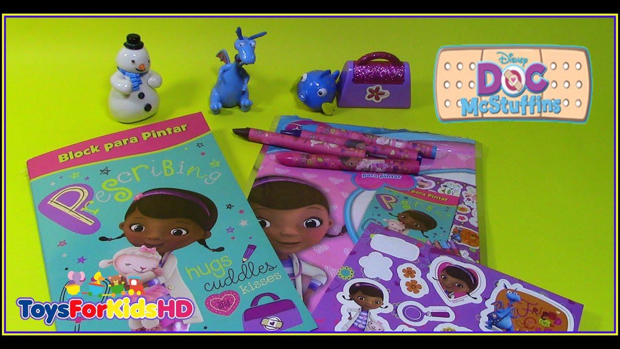 Doctora Juguetes Mini Art Pack Block para pintar - Libros para ...