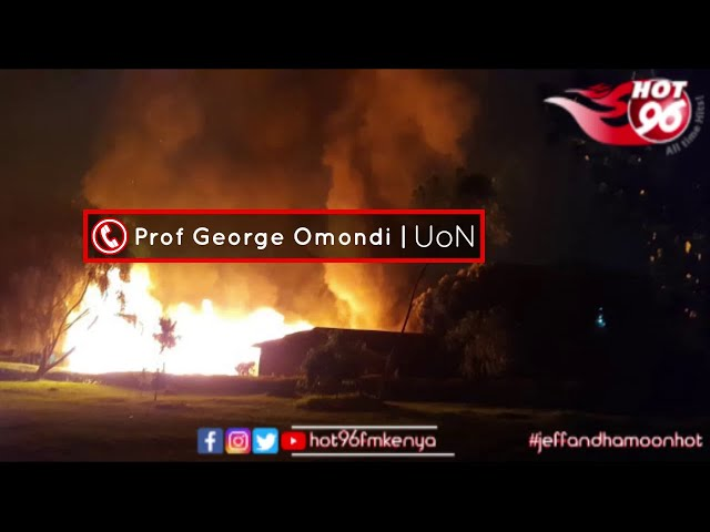 Prof. Omondi | Security Firm at UoN - Behaviour is Closer to Goons as Opposed to Security Personnel