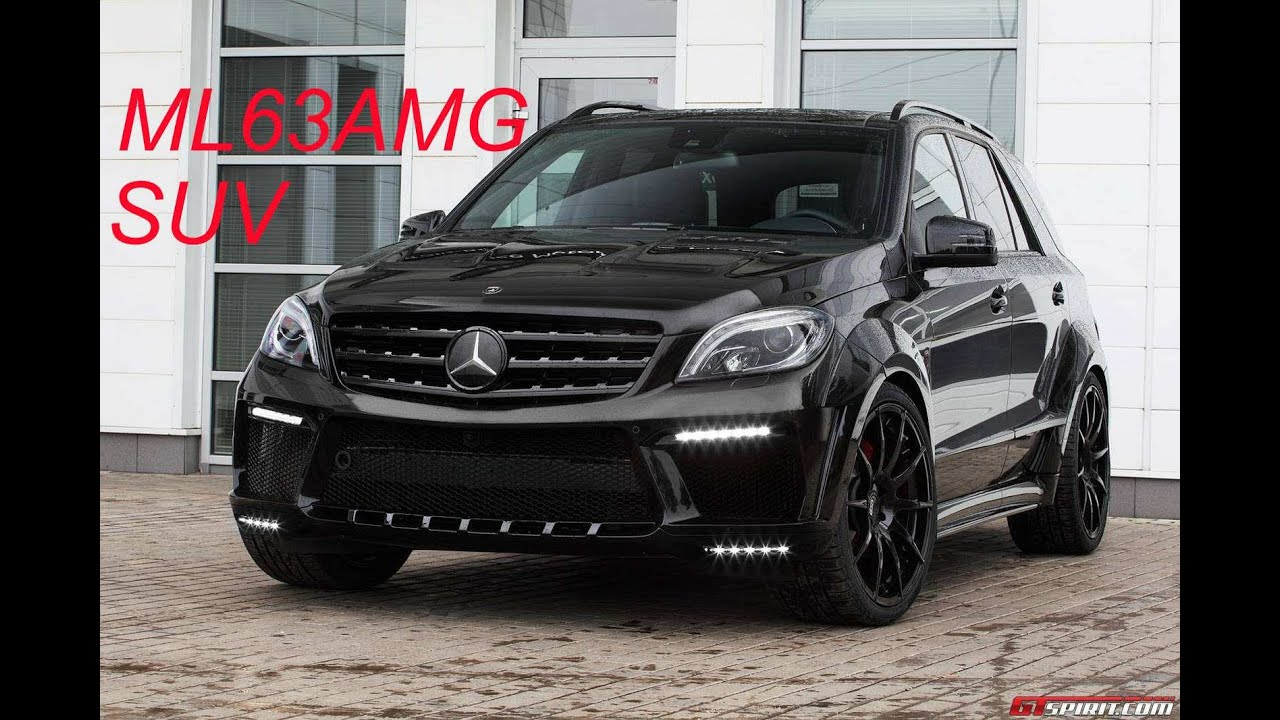 Mercedes Benz ML 63 AMG INFERNO by TopCar / M-Class SUV ...