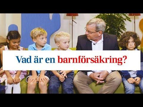 Vad är en barnförsäkring? Barn berättar. - YouTube