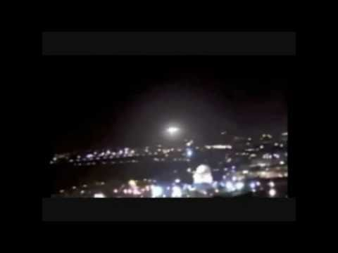 Jerusalem UFO sighting 2011 All 4 uncut Videos