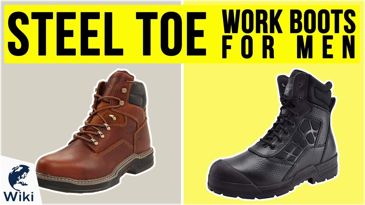 Best Steel Toe Work Boots For Men 2020