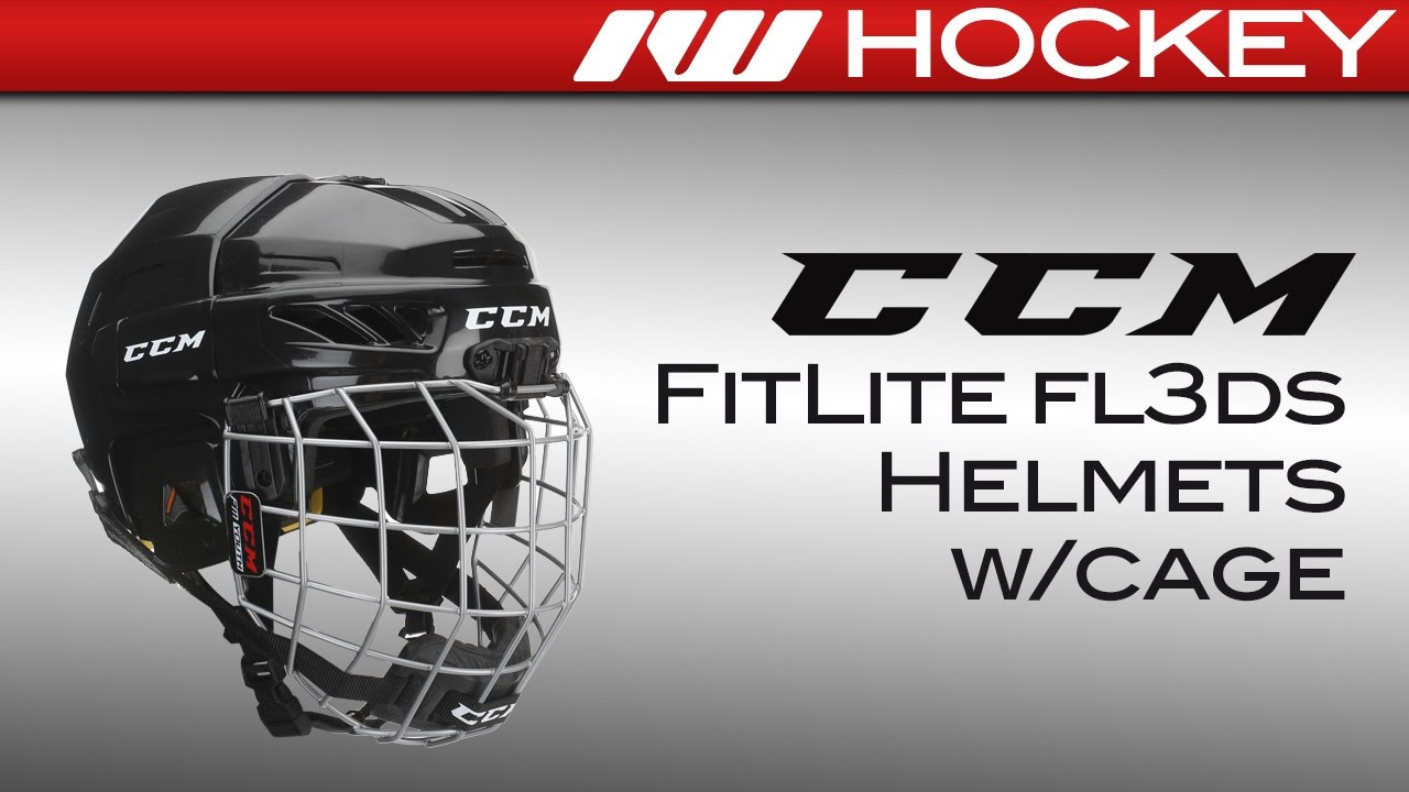 9d4edcbd529 CCM FitLite FL3DS Youth Helmet Review - YouTube