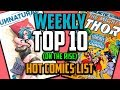 Hot Top 10 Comic Books On The Rise - SEPT (Week 1) 2018, Speculation, Sales & Investing
