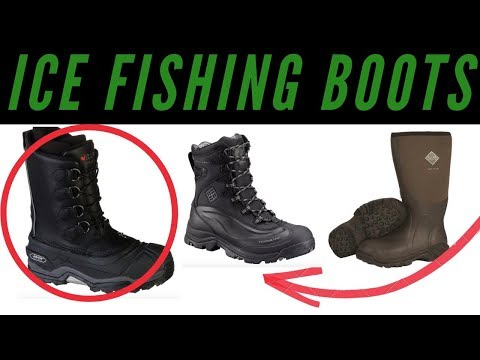 Best Ice Fishing Boots - Top 3 Picks