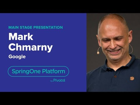 Mark Chmarny, Google: How GCP Integrates with PCF—SpringOne Platform 2018
