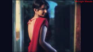 Very Hot actress backless saree removing hot scene back show