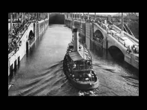 Panama Canal open to traffic August 15 1914