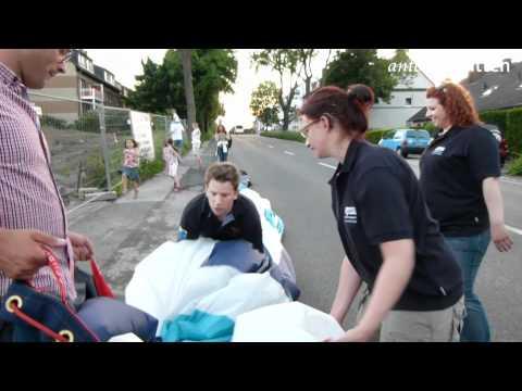 Witten: Heißluftballonlandung am 27.05.2012