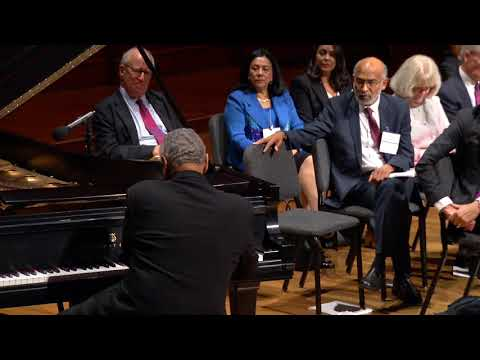 Performance by André Watts - 2018 Induction Ceremony