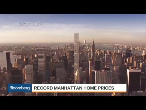 Manhattan Home Prices Reach Record on Short Supply