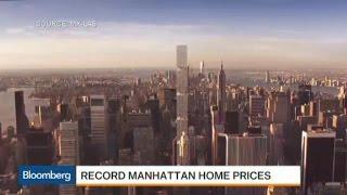 Manhattan Home Prices Reach Record on Short Supply