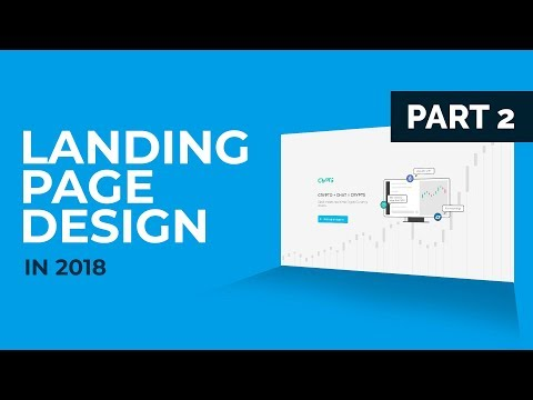 Landing Page Tutorial for 2018 - Part 2 of 2 (Code)
