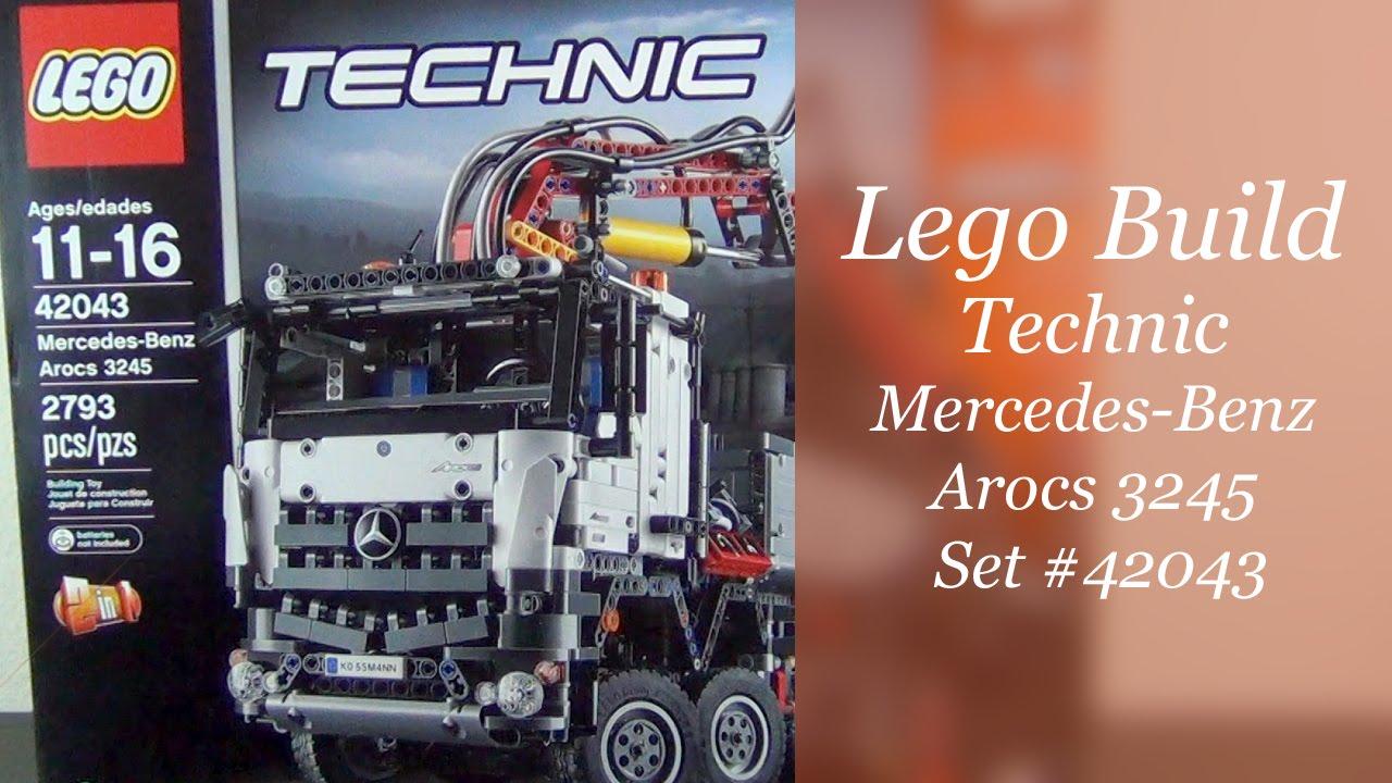 let 39 s build lego technic mercedes benz arocs 3245 set. Black Bedroom Furniture Sets. Home Design Ideas