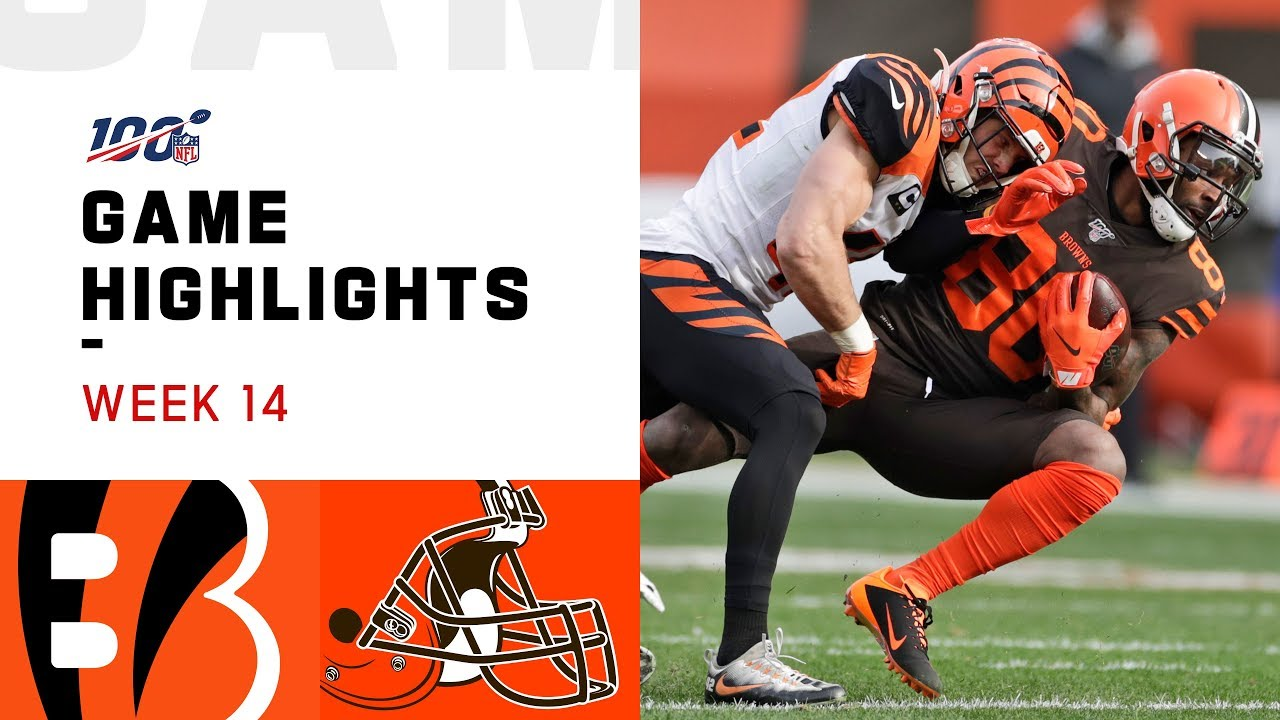 Game Highlights: Browns vs. Bengals