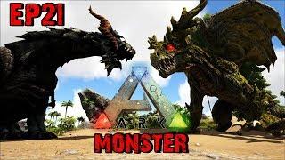 BGZ - ARK Monster EP#21 ศึกชิงบรรลังเทพ