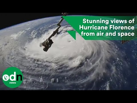Stunning views of Hurricane Florence from air and space