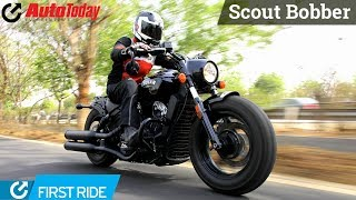 Indian Scout Bobber   First Ride   AutoToday