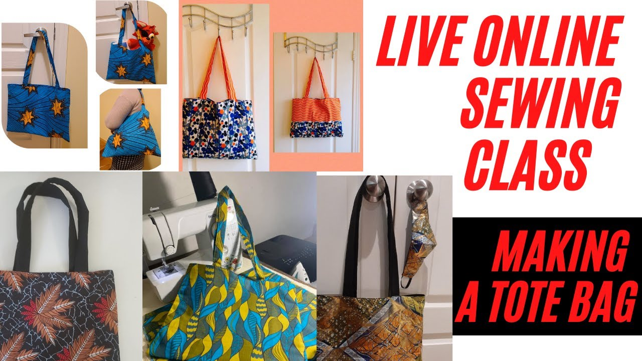 Live Online Sewing Class