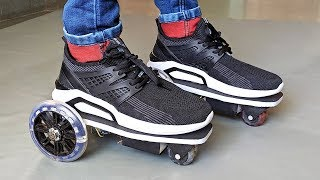 How to Make an Electric Motorized Shoes / Skating at Home