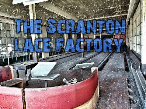 Exploring the MASSIVE Scranton Lace Factory (we weren't alone)