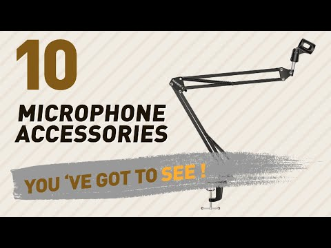 Microphone Accessories, Top 10 Collection // New & Popular 2017