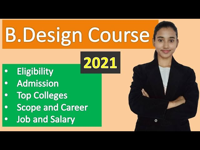B Design Course Bachelor Of Design Course Details In Hindi Youtube