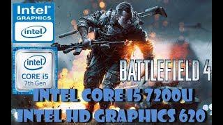 BATTLEFIELD 4  MULTIPLAYER i5 7200U Intel HD Graphics 620 TEST GAMING 2018