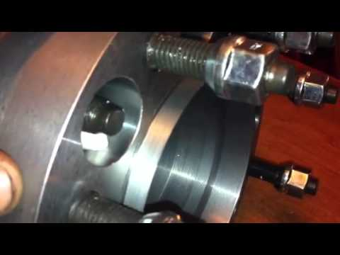 Steel dual wheel adapters. - YouTube