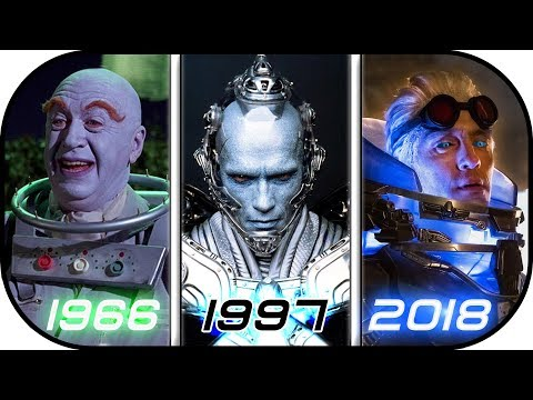 EVOLUTION of MR FREEZE in Live Action Movies & TV series 19662018 Batman vs mr freeze history