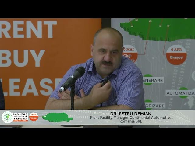 Petru Demian Continental Digitalizare și Eficiență energetică – Timișoara