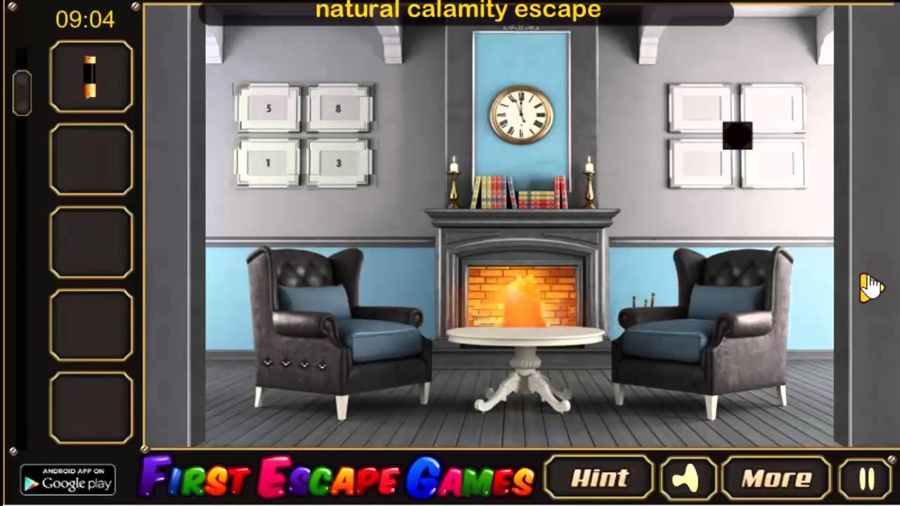 Vintage Blue House Escape Walkthrough First Games