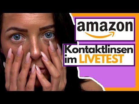 Kontaktlinsen Live Test| Sofort blaue Augen