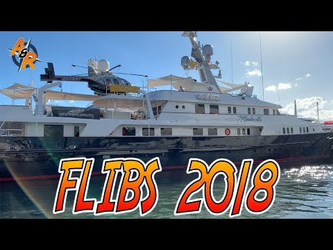 Exploring the FLIBS 2018 Boat Show (Fort Lauderdale Boat Show 2018) Episode 24.1